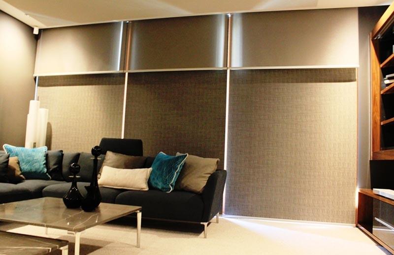Double roller blinds Helioscreen