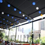 melbourne roof top bar retractable awnings Helioscreen