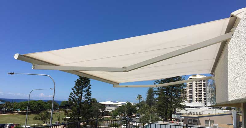 Retractable Folding Arm Awnings Helioscreen