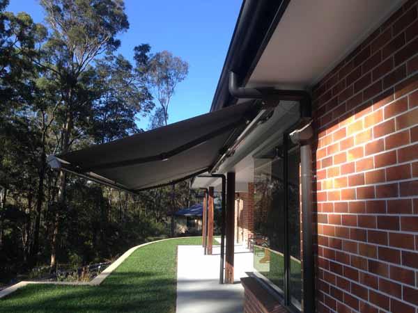 Gold Coast Retractable Folding Arm Awning Helioscreen