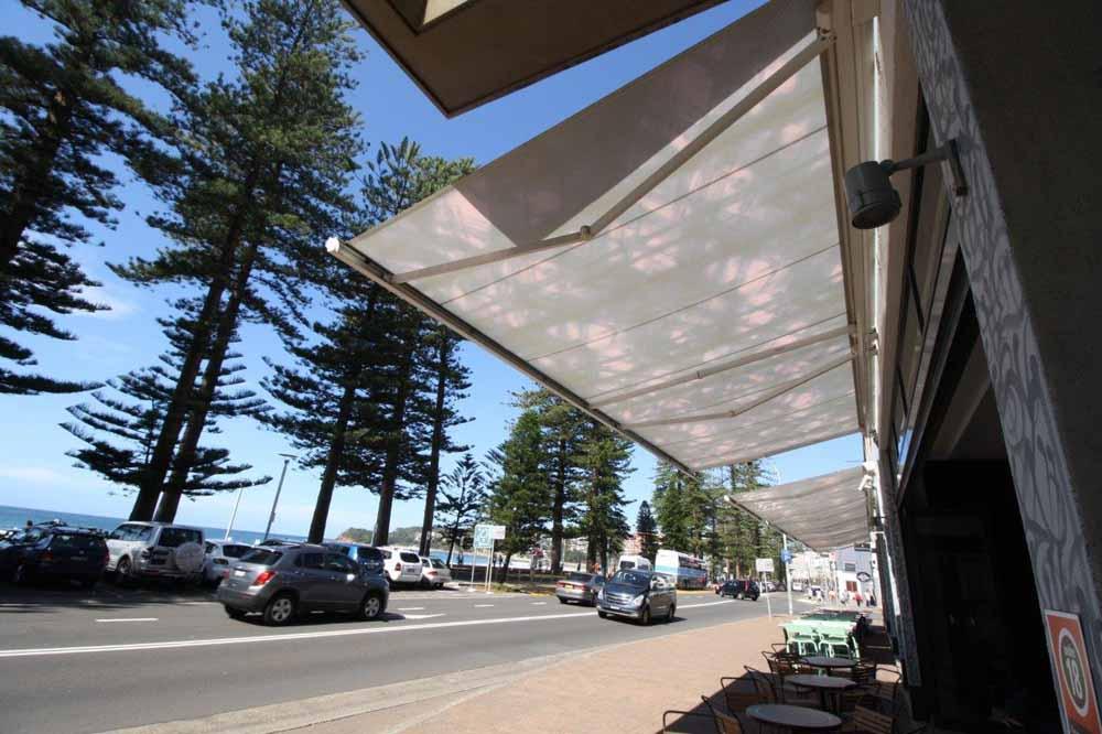 retractable awnings Sydney beachside