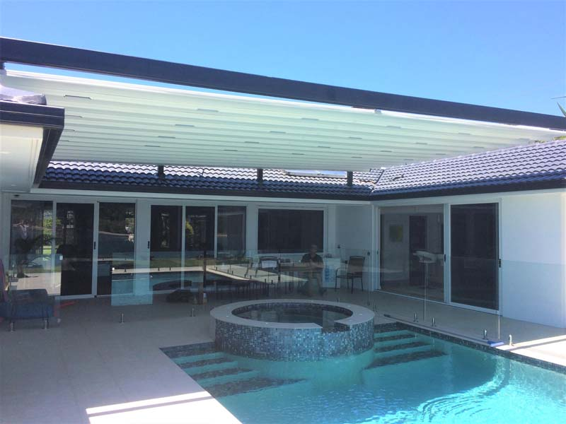 Retractable Pool Roof Brisbane