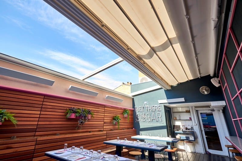 Alfresco Dining with Retractable Roof