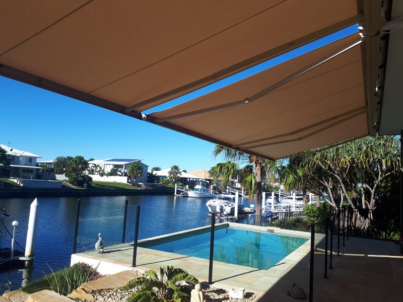 Folding Arm Awning Brisbane