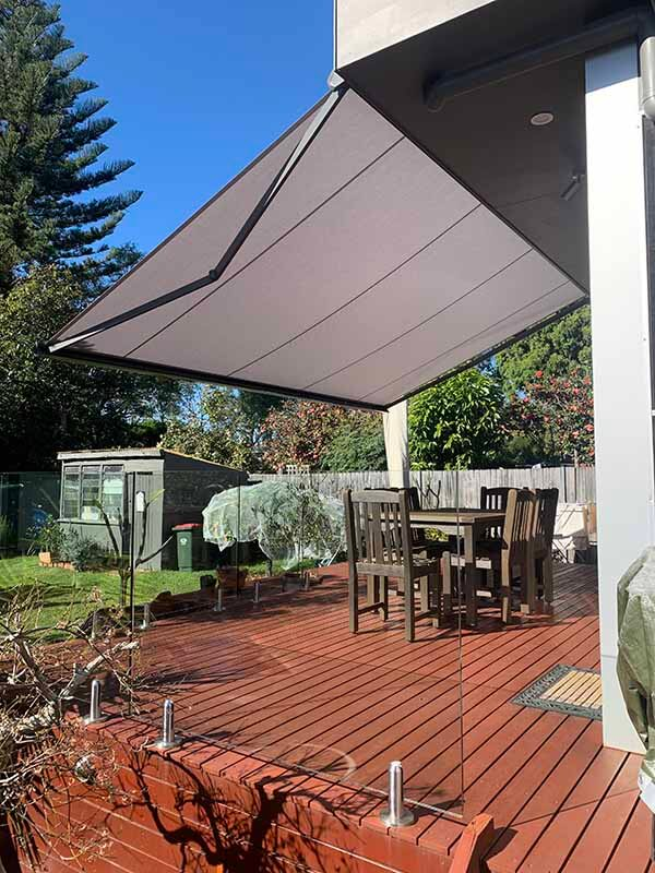 Folding Arm Awnings Sydney Northern Beaches
