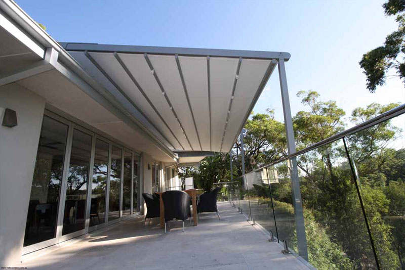 casetsudy helioscreen opening roof system for bush front home 2 Helioscreen