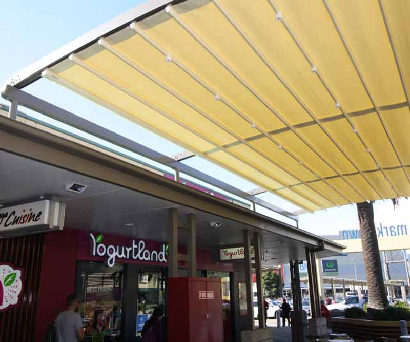 casetsudy retractable roofing system newcastle nsw 2 Helioscreen
