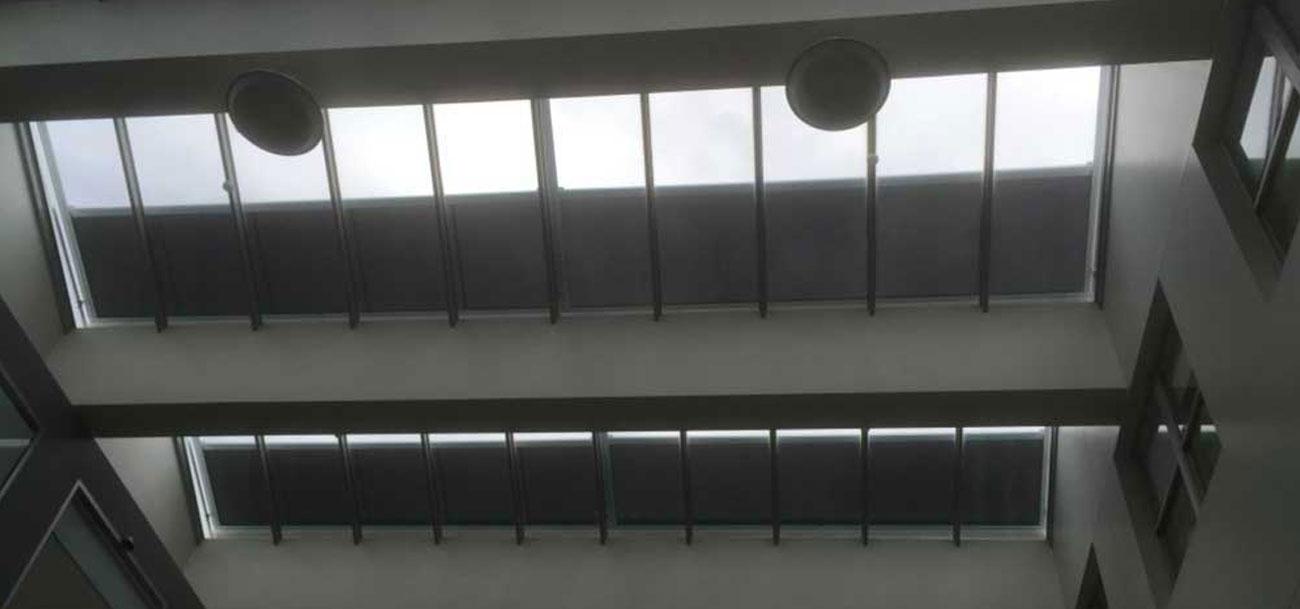 casetsudy retractable sunroof varioscreens bendigo hospital 1 Helioscreen